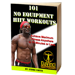 101 No Equipment HIIT (high intensity interval training ) Workouts eBook